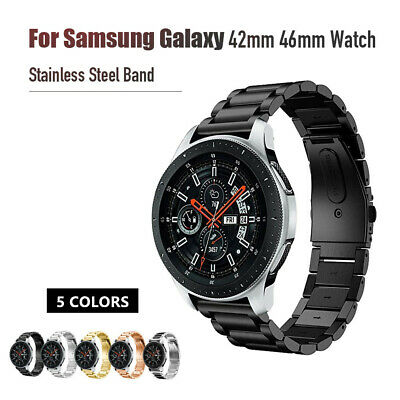 Stainless Steel Strap for Samsung Galaxy Watch 42mm 46mm Band Gear S3 Wristband