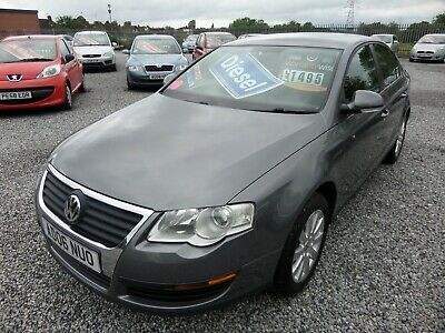2006 VW PASSAT S 1.9 TDi DIESEL-AIRCON-CD-ALLOYS-TOWBAR-CHEAP TAX-FULL MOT