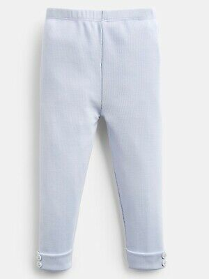 Joules Lula Ice Blue Leggings Age 6/9 Months