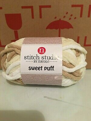 1 SKEIN YOU CHOOSE COLOR Stitch Studio SWEET PUFF by Nicole