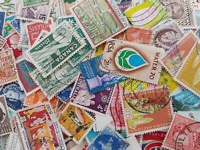 World Stamps in packets of 100. Unchecked. Mixed condition. Mainy fine used.