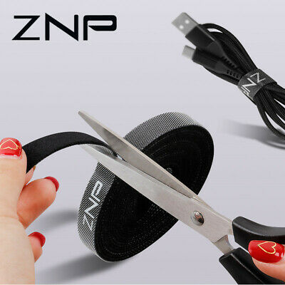 ZNP Cable Organizer Wire Winder Holder Earphone Mouse Cord Clip Protector USB