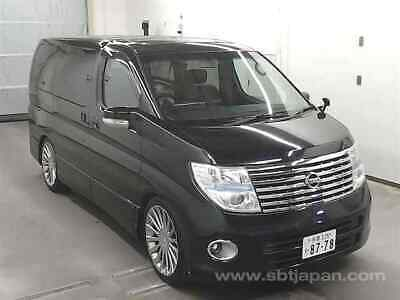 FRESH IMPORT LATE 2007 Face Lift Nissan Elgrand V6 Automatic