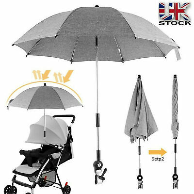 Kids UV Umbrella Baby Parasol Universal Pram Pushchair Stroller Buggy Sun Shade