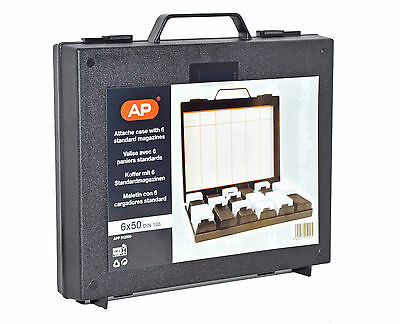 AP Slide Attache/Briefcase with 6x Din Slde Magazines