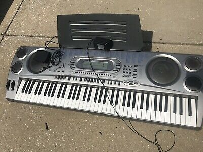 Casio WK-1630 With 76 Keys Power Adaptor Sustain Pedal - A +'condition