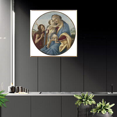 Classical Retro Canvas Art Oil Painting Poster Bedoom Picture Wall Home Decor