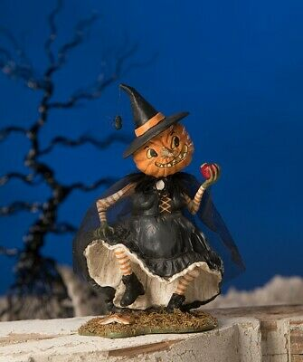 New Bethany Lowe Halloween Playing With Magic Witch TD8528