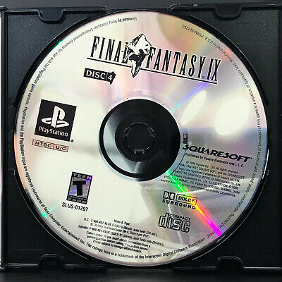 FINAL FANTASY IX 9 Replacement Black Label Disc 2 Only - PS1