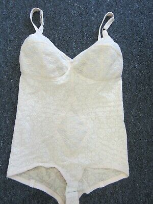 4c70cd47af3 RAGO BODY BRIEFER 9051 All in one / garters/ White / 34B / NEW ...