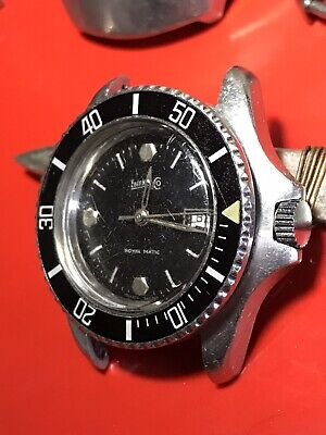 Eberhard Royal Matic Diver Stainless Steel  Cal 2671 Automatic Wristwatch Midsiz