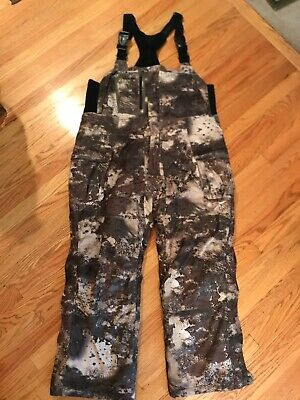 ae3211ae9660a Cabela's MT050 Whitetail Extreme Gore-tex Insulated Hunting Bibs O2 Octane  Large