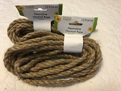 13' FT FEET Nautical Rope Decorative Natural String Floral