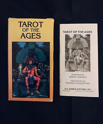 Vintage Tarot Of The Ages Mario Garizio First Edition 1988 Rare OOP Oracle