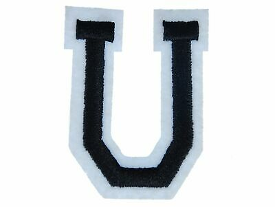 Letters Initials Alphabet Abc Iron-On Patch Patch Miniblings 4,5 Letter New U