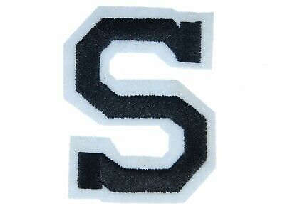 Letters Initials Alphabet Abc Iron-On Patch Patch Miniblings 5cm LETTER S