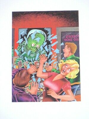 1994 Mars Attacks Non-Sport Update Homage To 1962 Promo Card Topps Aliens Horror
