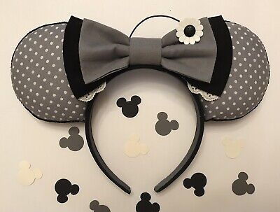Handmade Classic Minnie (1920's)Themed Minnie Inspired Ears (New).