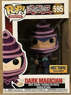 Funko Pop Yu-Gi-Oh! #595 Dark Magician Hot Topic Exclusive IN HAND READY TO SHIP