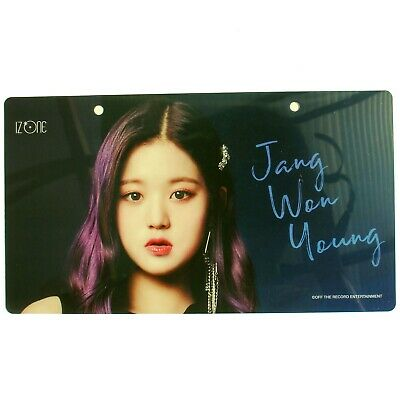 "IZ*ONE IZONE Japan Jang Won Young ""Shibuya 109 POP UP Buenos Aires"" Nameplate"