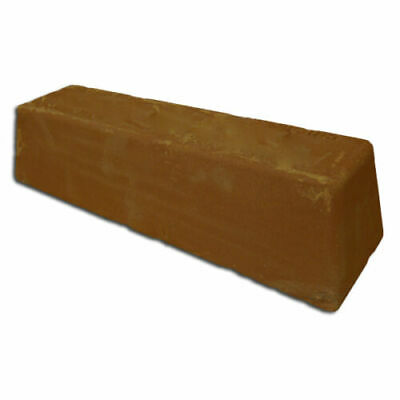 Tripoli Brown Polishing compound bar 4 Copper-Brass-Non Ferrous Metals HUGE 3LBS