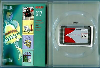 PFAFF Sewing Machine Creative Card: Christmas Collection 317 (2140 2144 2170)