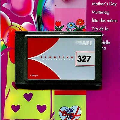 PFAFF Sewing Machine Creative Card: Mother's Day Collection (2140 2144 2170)