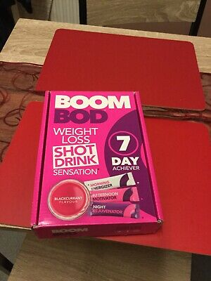BoomBod 7 Day Achiever - Weight Loss Die Slimming Shot Drink  - 21 Sachets