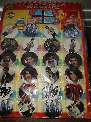 Jonas Brothers Fashion Badges Collection