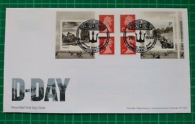 2019 75th Anniversary D-Day Retail Booklet FDC Neptune Road Barry postmark