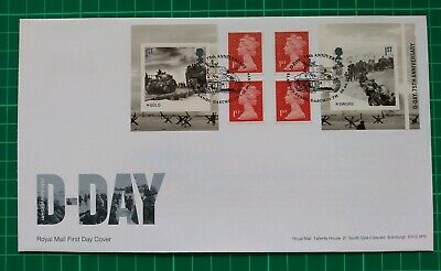 2019 75th Anniversary D-Day Retail Booklet FDC Slapton Sands Axminster postmark