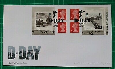2019 75th Anniversary D-Day Retail Booklet FDC Trooper's Close Chester postmark