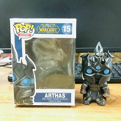 Funko Pop Games: WOW ARTHAS MENETHILL Action Figure Toys Collection