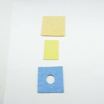 Different Size Iron Tip Cleaning Pad Sponge Welding Iron Solder Soldering
