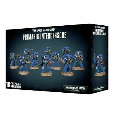 10 X Space Marines Primaris Intercessors Games Workshop Warhammer 40,000 SEALED