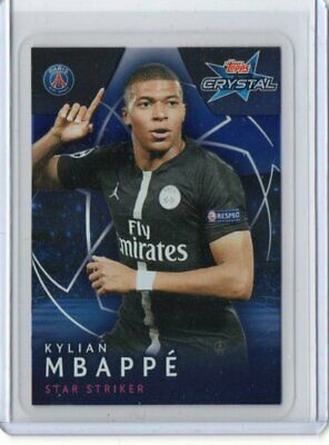 Kylian Mbappe 2018/19 Topps Champions League Crystal#19