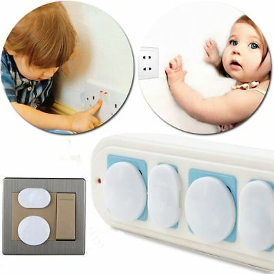 20Pcs Power Socket Outlet Plug Protective Cover Baby Kids Safety Protector
