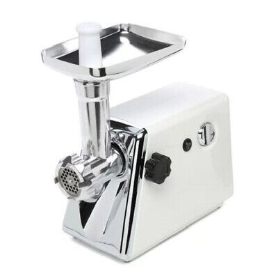 Electric Meat Grinder Kitchen Appliance 350W Stuffer Sausage Tube 3 Cut Blades