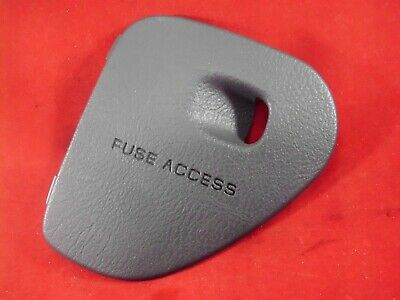 98-01 dodge ram fuse box access door lid cover mist grey 1500 2500 3500