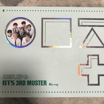 BTS 3RD MUSTER Army Zip + Official DVD Full Set 3 Disc + Photo card