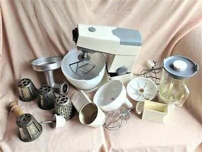 Kenwood Chef A701A With Beater – Whisk – Mincer – Grater + Blender