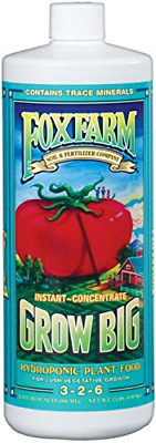 Fox Farm FoxFarm 790218 FX14010 1-Quart Grow Big Hydroponic Liquid Concentate,