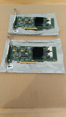 2x LSI SAS 9211-8i IT mode #960-1