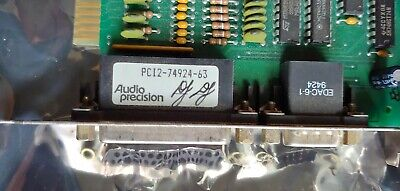Audio Precision interface - ISA computer card - No Reserve
