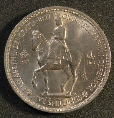 1953 British Crown Commemorating Coronation Of Queen Elizabeth Ii