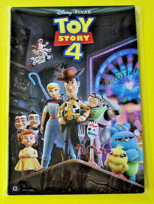 Toy Story 4 Exclusive Poster Cards Complete Set Of 7 Amc Movie Theater Brand New