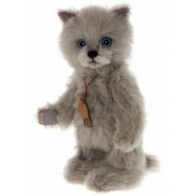 SPECIAL OFFER! Charlie Bears Minimo BLUE Cat (Limited to 1200 Worldwide) RRP £90