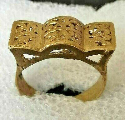 Ancient Viking Bronze Ring Artifact Museum Quality Very Stunning