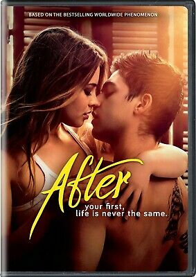 After (DVD, 2019) * Josephine Langford, Hero Fiennes Tiffin * Incl'd SLIP-COVER