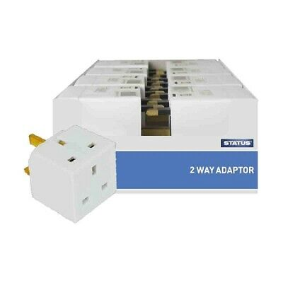 Status 2 way Electrical Adaptor Non Fused